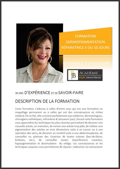 Formation Dermopigmentation Réparatrice - Tatouage paramédical
